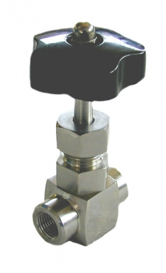 "AISI 316 1/4"" Manual pressure regulation needle valve for HP UC - HP SC - HP KIT - HP V - HPSCE"