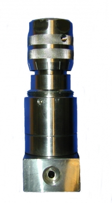 "AISI 316 3/8"" Semi automatic pressure regulation needle valve (SC - V models produced until December 2002)"