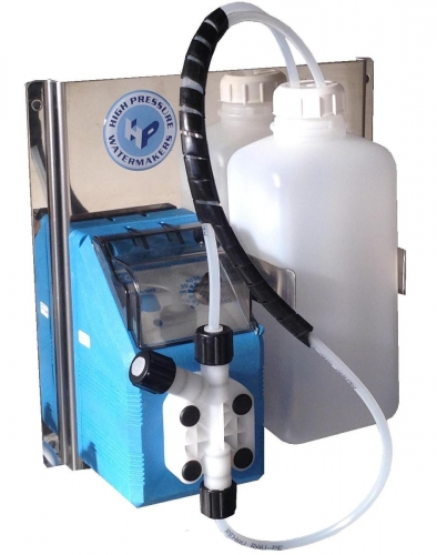 Automatic membrane anti scalant dosing system