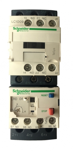 HP pump contactor & thermal overload relay for HP SC