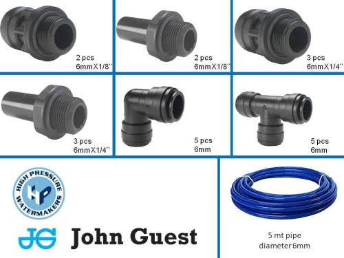 John Guest Spare Kit 6 MM