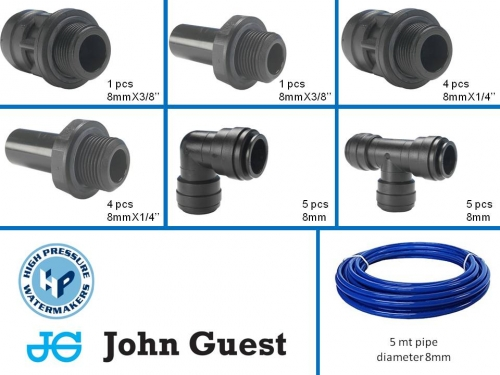 John Guest Spare Kit 8 MM