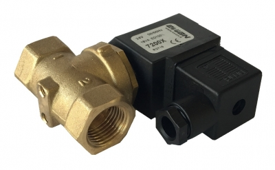 "Solenoid Valve EV2 (excluding cable) two way 1/2"" - HP SC - HP V - HP UC - HP KIT"